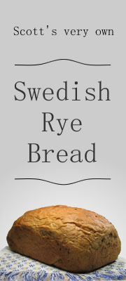 Scott's Homemade Swedish Rye Bread - order online!