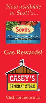 Shop at Scott's, Save on Gas at Casey's of Lindsborg