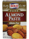 Solo Almond Paste, 8 oz.