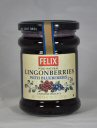 Felix Lingonberries with Blueberries, 10 oz.