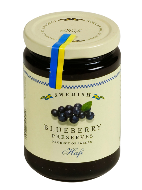 Hafi Wild Blueberry Preserves, 14.1 oz.