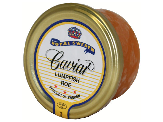 Royal Sweden Red Caviar Lumpfish Roe, 3.5 oz.
