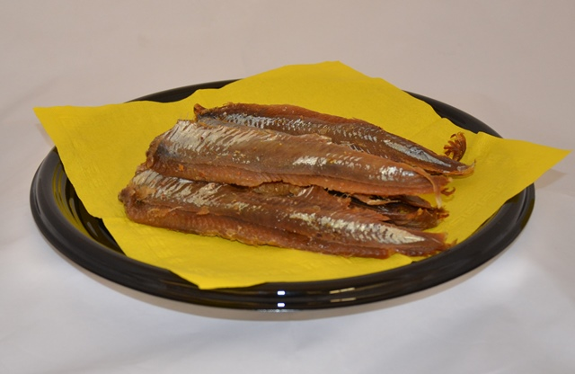 Smoked Herring Fillets, 8 oz.