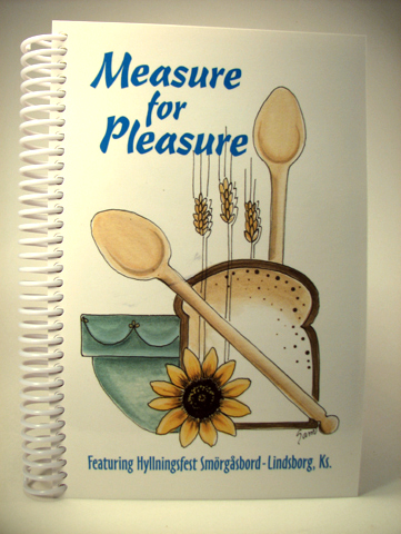 Bethany College Auxiliary - Measure for Pleasure Cookbook (309 pages)