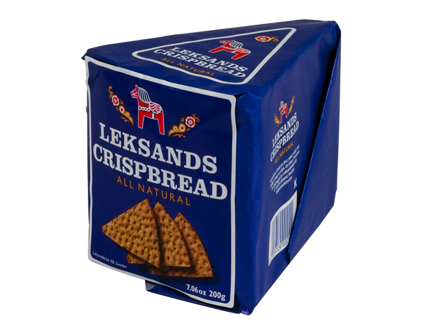 Leksands Crispbread Wedges, 7 oz.