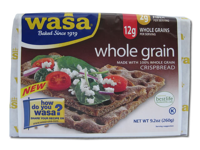 Wasa Whole Grain Crispbread, 9.2 oz.