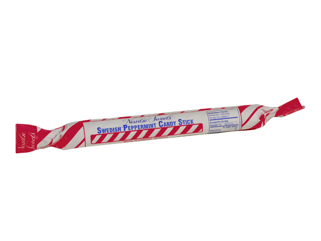 Nordic Sweets Swedish Peppermint Stick, 1.9 oz.