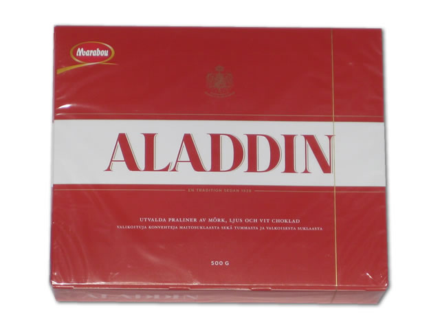 Marabou Aladdin Milk/Dark Chocolate Box, 17.63 oz.