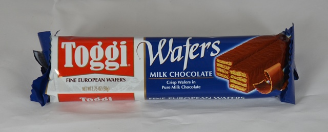Toggi European Milk Chocolate Wafer Bar, 1.75 oz.