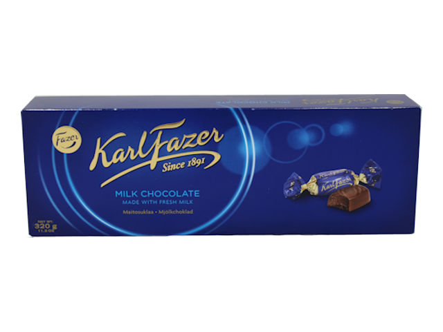 "Fazer ""KF"" Blue Milk Chocolate Box, 12.3 oz."