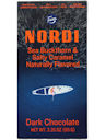 Nordi Sea Buckthorn and Salty Caramel Dark Chocolate Bar, 3.35 oz.