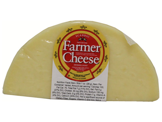Scandic Farmer's Cheese Half-Moon, 8 oz.