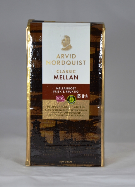 Arvid Nordquist Classic Mellanroast Coffee, 17.6 oz.