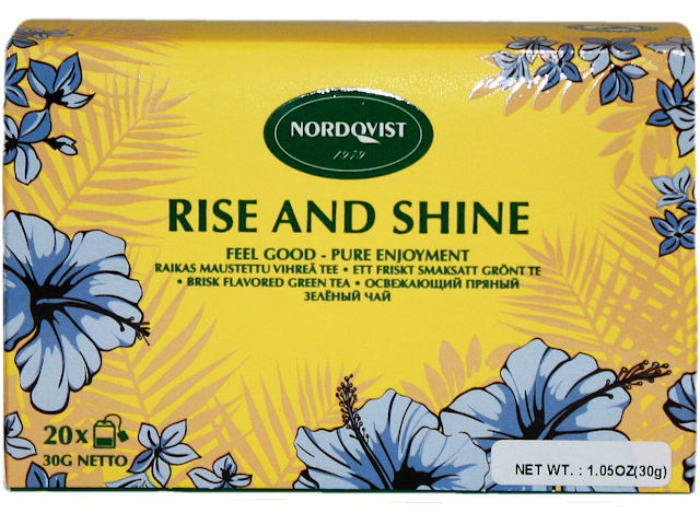 Nordqvist Rise and Shine Tea, 20 ct