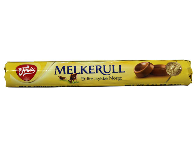 Freia Melkerull Milk Chocolate Roll, 2.75 oz.